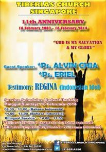 Tiberias Church11th Annivesary