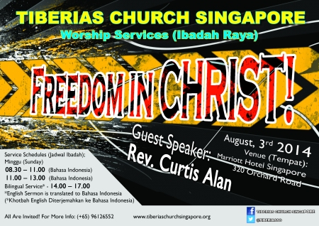 Sunday Service 3 August 2014