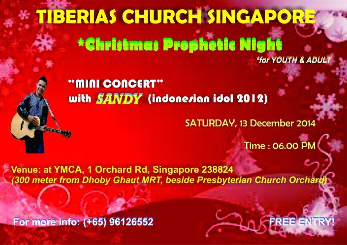 Blessing Service 13 December 2014