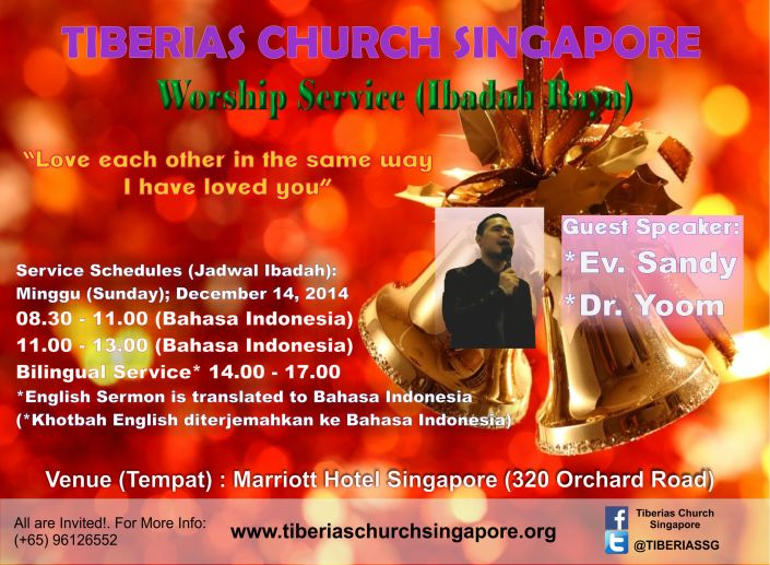 Sunday Service 14 December 2014