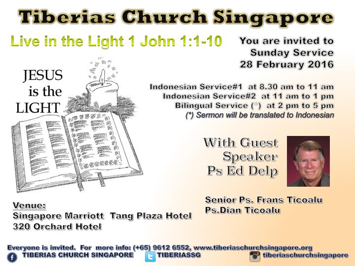 Sunday Service 28 February 2016